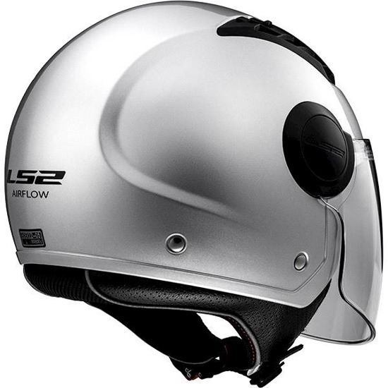 Kask LS2 AIRFLOW solid silver