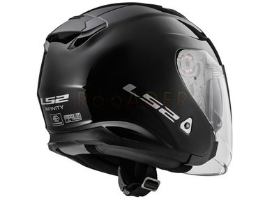 Kask LS2 INFINITY solid gloss black